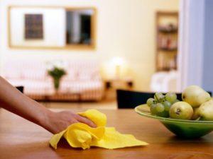 dust table fruit
