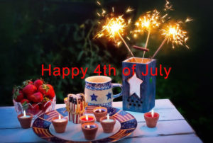 Fourth of July Post