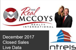 December 2017 Closed Homes Live NTREIS MLS DATA Plano Texas