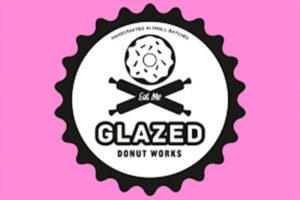 Glazed donut works legacy food hall
