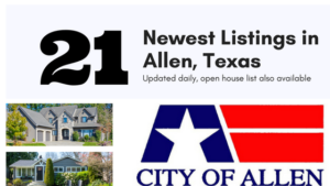 21Newest Listings in Allen