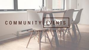 community events plano april 12th - 15th 2018