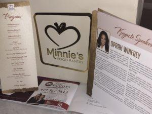 Minnie's Food Pantry Oprah Winfrey April 2018 Gala