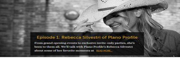 Legacy West Podcast Rebecca Silvestri Plano Profile