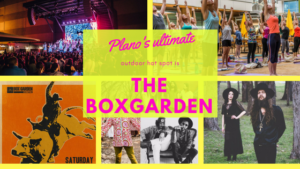 Plano ultimate outdoor hot spot is the BoxGarden