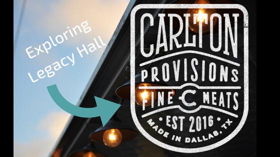 Exploring Legacy Hall: Carlton Provision BBQ