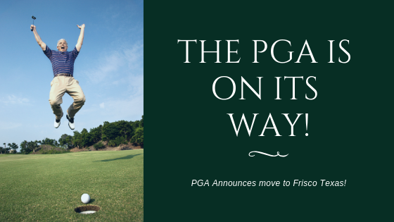 Shout Hooray, the PGA is on its way!