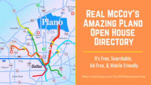 McCoy Open House Directory