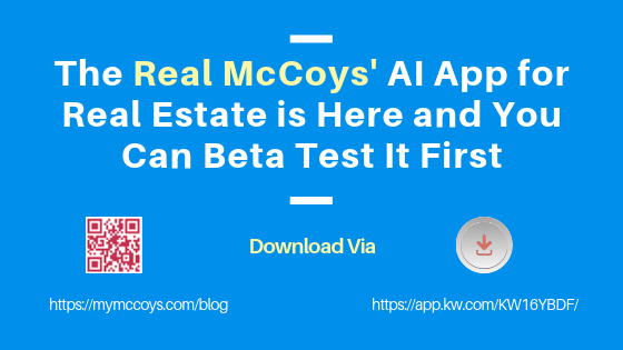 The Real McCoys' AI App for Real Estate is Here and You Can Beta Test It First