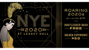 Legacy Hall Roaring 20s New Years Eve Party 2020 Plano Texas