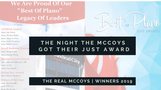 The Night the Real McCoys Received Their Just Award!